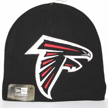 Atlanta Falcons New Era Big One Too Cuffless Knit Hat