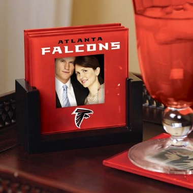 Atlanta Falcons Photo Coaster Set