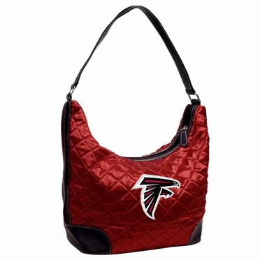 Atlanta Falcons Quilted Hobo Purse