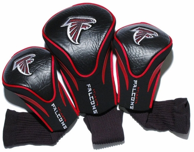 Atlanta Falcons Set of Three Contour Headcovers