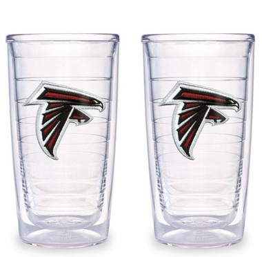 Atlanta Falcons Set of TWO 16 oz. Tervis Tumblers