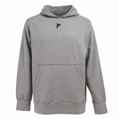 Atlanta Falcons Mens Signature Hooded Sweatshirt (Color: Gray)