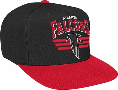 Atlanta Falcons Stadium Throwback Snapback Hat