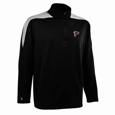 Atlanta Falcons Mens Succeed 1/4 Zip Performance Pullover (Team Color: Black)
