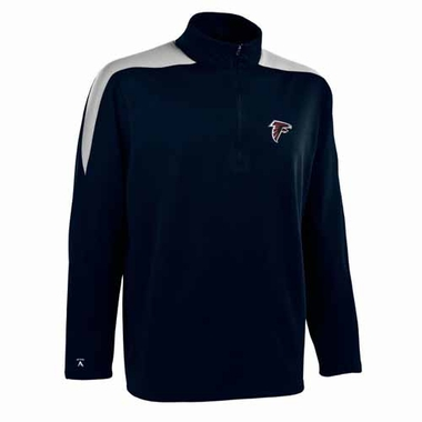 Atlanta Falcons Mens Succeed 1/4 Zip Performance Pullover (Color: Smoke)