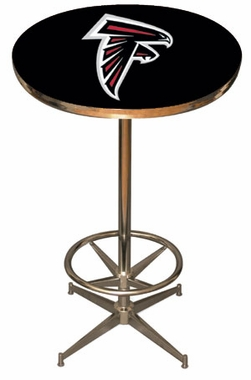 Atlanta Falcons Team Pub Table