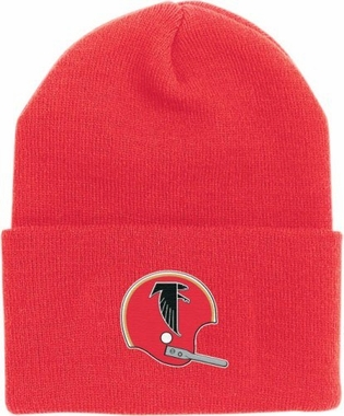 Atlanta Falcons Throwback Logo Cuffed Knit Hat