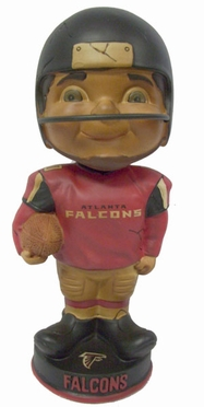 Atlanta Falcons Vintage Retro Bobble Head