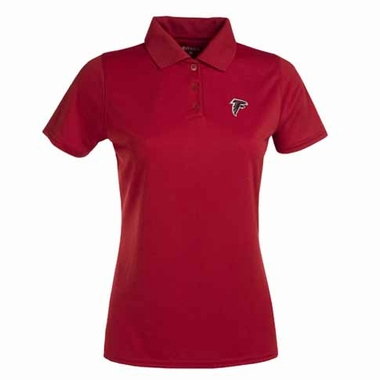 Atlanta Falcons Womens Exceed Polo (Team Color: Red)