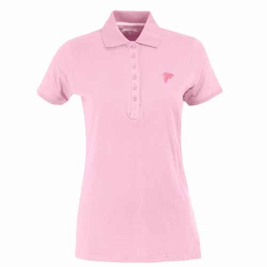 Atlanta Falcons Womens Spark Polo (Color: Pink)