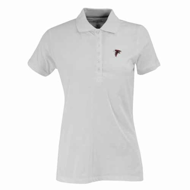 Atlanta Falcons Womens Spark Polo (Color: White)