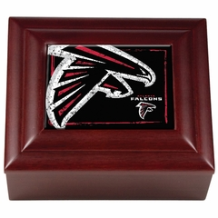 Atlanta Falcons Wooden Keepsake Box