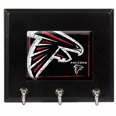 Atlanta Falcons Wooden Keyhook Rack