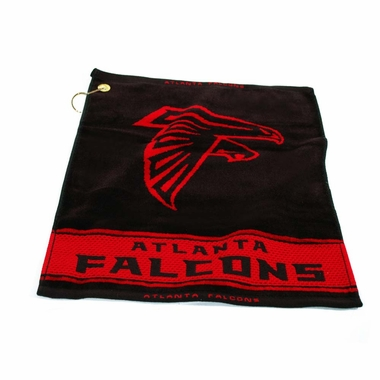 Atlanta Falcons Woven Golf Towel