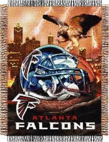 Atlanta Falcons Woven Tapestry Throw Blanket