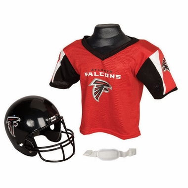 Atlanta Falcons Youth Helmet and Jersey Set