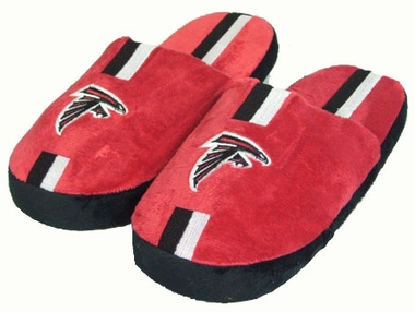 Atlanta Falcons YOUTH Team Stripe Slide Slippers