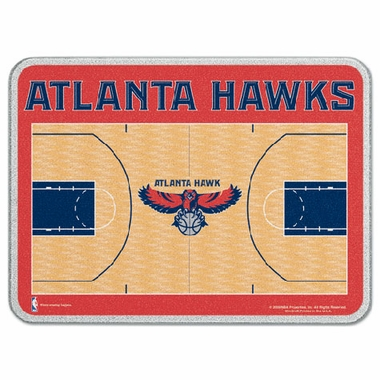Atlanta Hawks 11 x 15 Glass Cutting Board