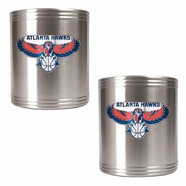 Atlanta Hawks 2 Can Holder Set