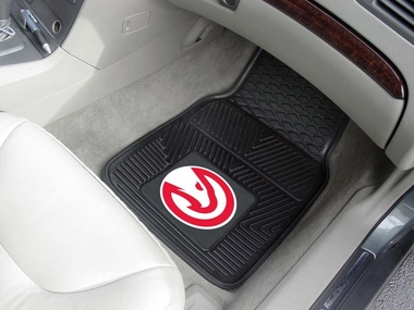 Atlanta Hawks 2 Piece Heavy Duty Vinyl Car Mats