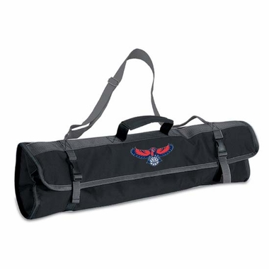 Atlanta Hawks 3pc BBQ Tote (Black)
