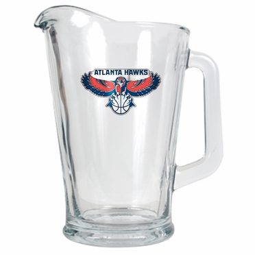 Atlanta Hawks 60 oz Glass Pitcher