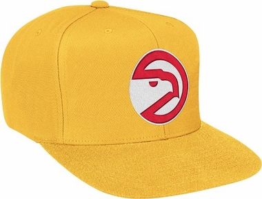 Atlanta Hawks Basic Logo Snap Back Hat