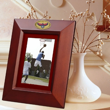 Atlanta Hawks BROWN Portrait Picture Frame