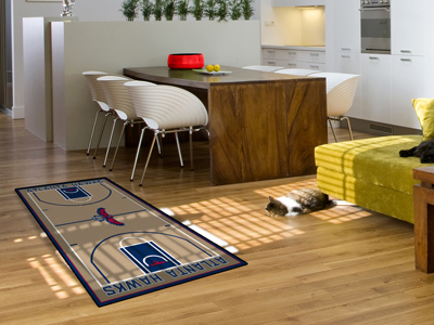 Atlanta Hawks Court Runner Rug