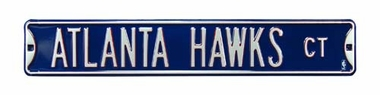 Atlanta Hawks Ct Street Sign