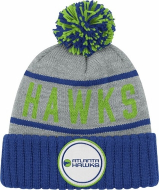Atlanta Hawks High 5 Vintage Cuffed Pom Hat