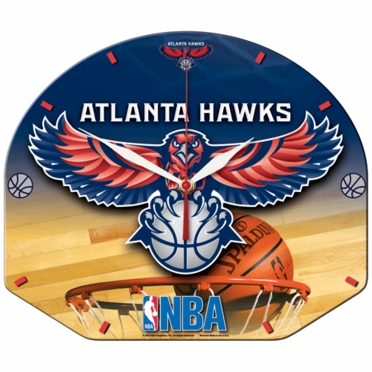 Atlanta Hawks High Definition Wall Clock