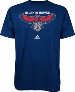 Atlanta Hawks Primary Logo T-Shirt - XX-Large