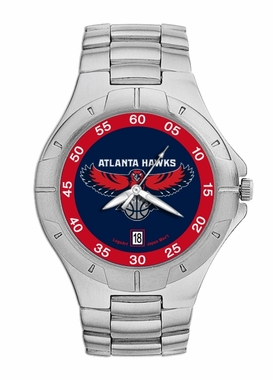 Atlanta Hawks Pro II Men's Stainless Steel Watch