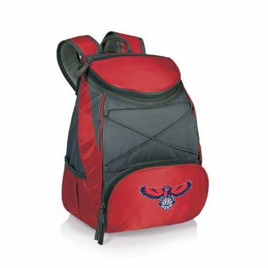 Atlanta Hawks PTX Backpack Cooler (Red)
