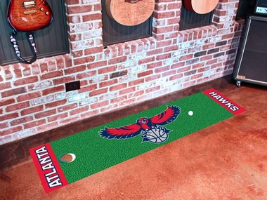Atlanta Hawks Putting Green Mat