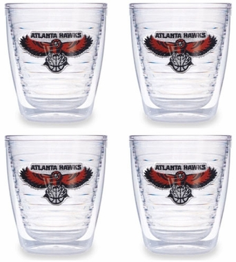 Atlanta Hawks Set of FOUR 12 oz. Tervis Tumblers