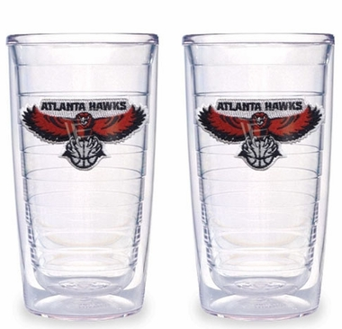 Atlanta Hawks Set of TWO 16 oz. Tervis Tumblers