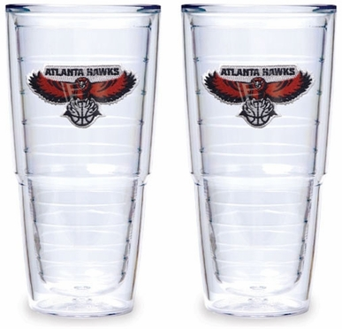 Atlanta Hawks Set of TWO 24 oz. Tervis Tumblers