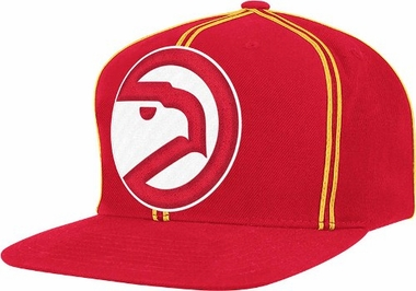 Atlanta Hawks ThrowBack Double Soutache Snap Back Hat