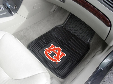 Auburn 2 Piece Heavy Duty Vinyl Car Mats