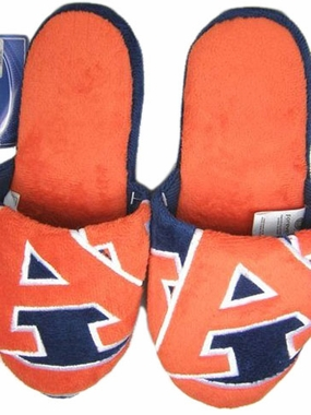 Auburn 2011 Big Logo Hard Sole Slippers (Two Tone)