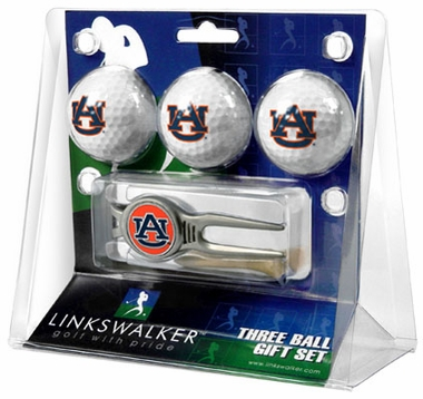 Auburn 3 Ball Gift Pack With Kool Tool