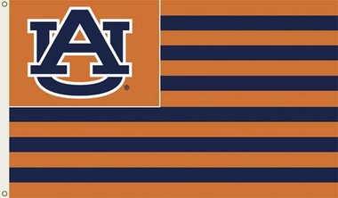Auburn 3' x 5' Flag (Stripes) (F)