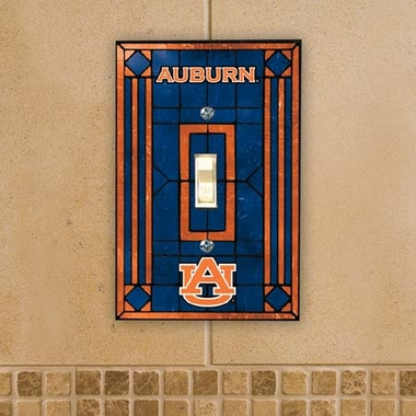 Auburn Art Glass Lightswitch Cover