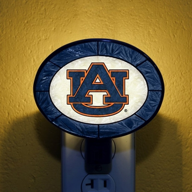 Auburn Art Glass Night Light