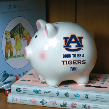 Auburn (Born to Be) Piggy Bank