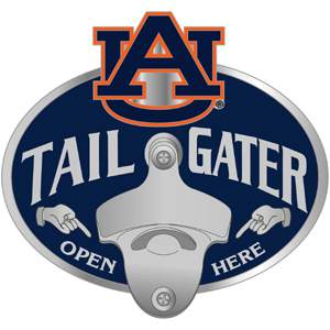 Auburn Bottle Opener Hitch Cover