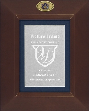 Auburn BROWN Portrait Picture Frame