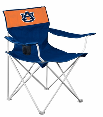 Auburn Canvas Adult Folding Logo Chair